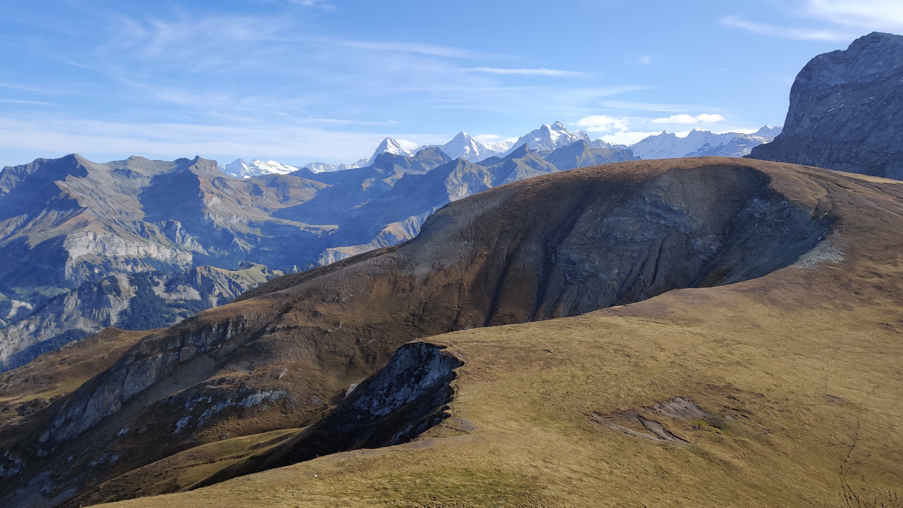Aussicht Sattelhorn